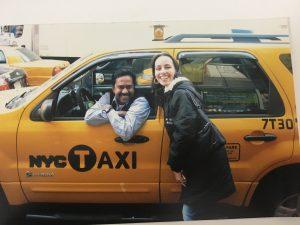 Os famosos taxis amarelos de New York
