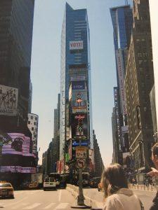 Times Square em 2008