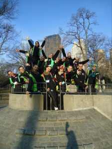 Grupo Kaiorra no Central Park