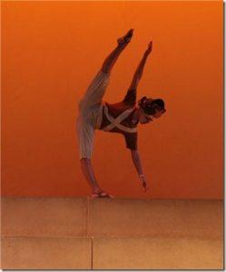 Bailarina Silvia Bastos, atuando no NYU Skirball Center, Center for the Performing Arts da New York University