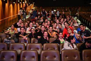Bailarinos Felizes participando do Premio Desterro de Florianópolis.