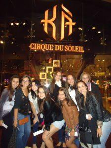 Sempre passeios voltado para Arte e Cultura - Cirque du Soleil, Las Vegas.