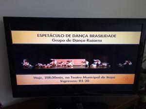 Pré estreia na agenda cultural da RBS TV